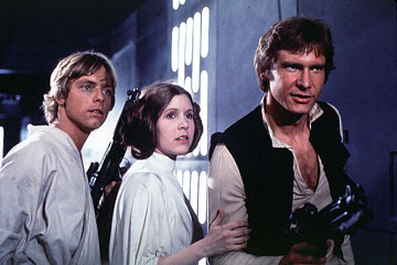 screenshot from Star Wars Episode IV