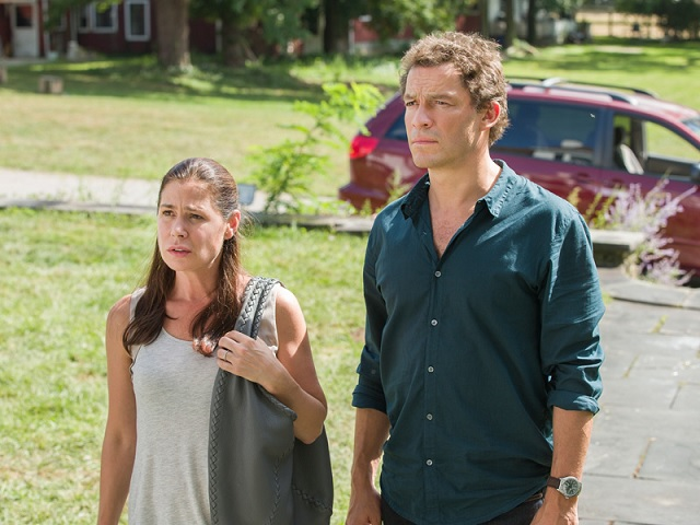 Maura Tierney, Dominic West