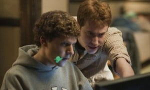 screenshot from The Social Network