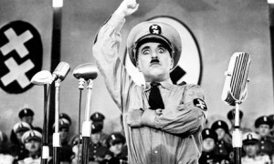 screenshot from The Great Dictator