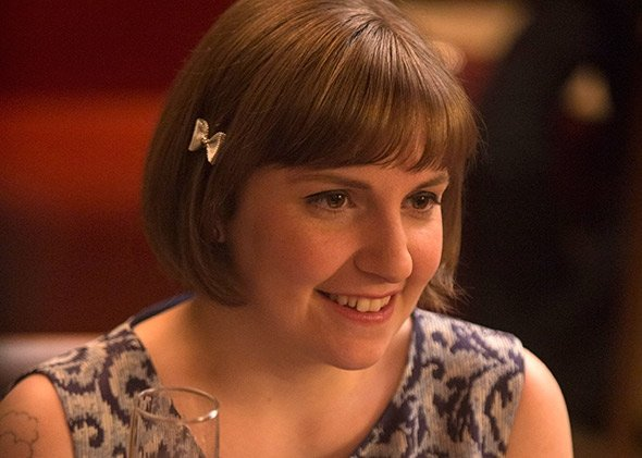 "Lena Dunham in Girls S04E01, ""Iowa"""