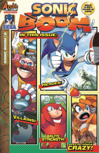 Sonic Boom #2 Cover