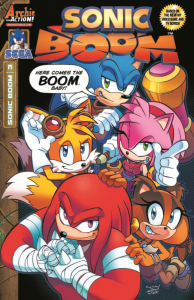 Sonic Boom #3 Cover