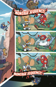 Sonic Boom #3 Full Page
