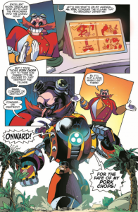 Sonic boom #2 full Page