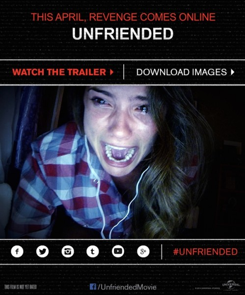 Trailer for Unfriended, one of the best horror films youll see.