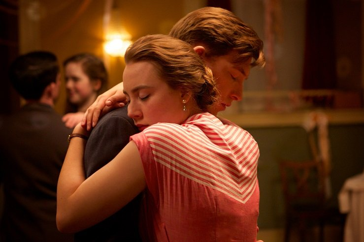 """Saoirse Ronan and Domhnall Gleeson in """"Brooklyn"""" Image Courtesy of The Sundance Institute"""