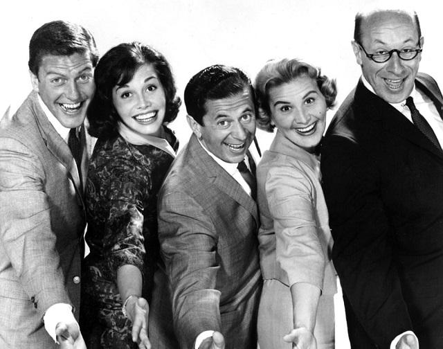 The Dick Van Dyke Show cast