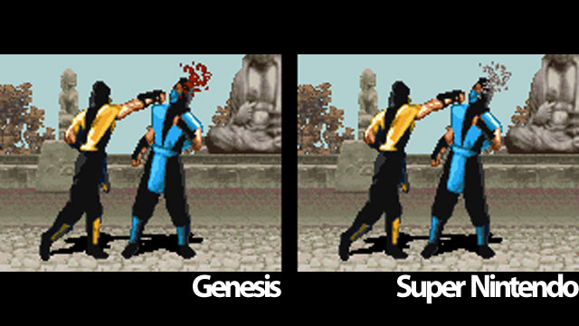 snes vs genesis