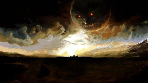Zelda Majoras Mask Realistic Eerie Painting Wallpaper By