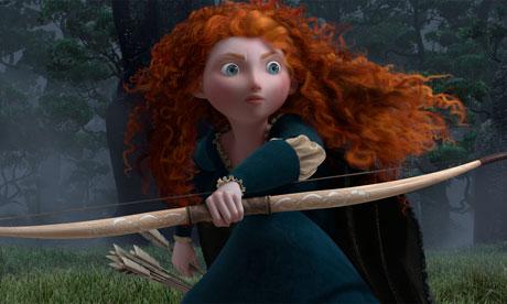 Brave's Merida, played by Kelly Macdonald