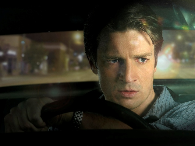 DRIVE: Alex Tully (Nathan Fillion) participates in an underground cross-country road race in DRIVE premiering Sunday, April 15 (8:00-10:00 PM ET/PT) and moving to its regular time period on Monday, April 16 (9:00-10:00 PM ET/PT) on FOX. Cr: Jeremy Cowart/FOX 342
