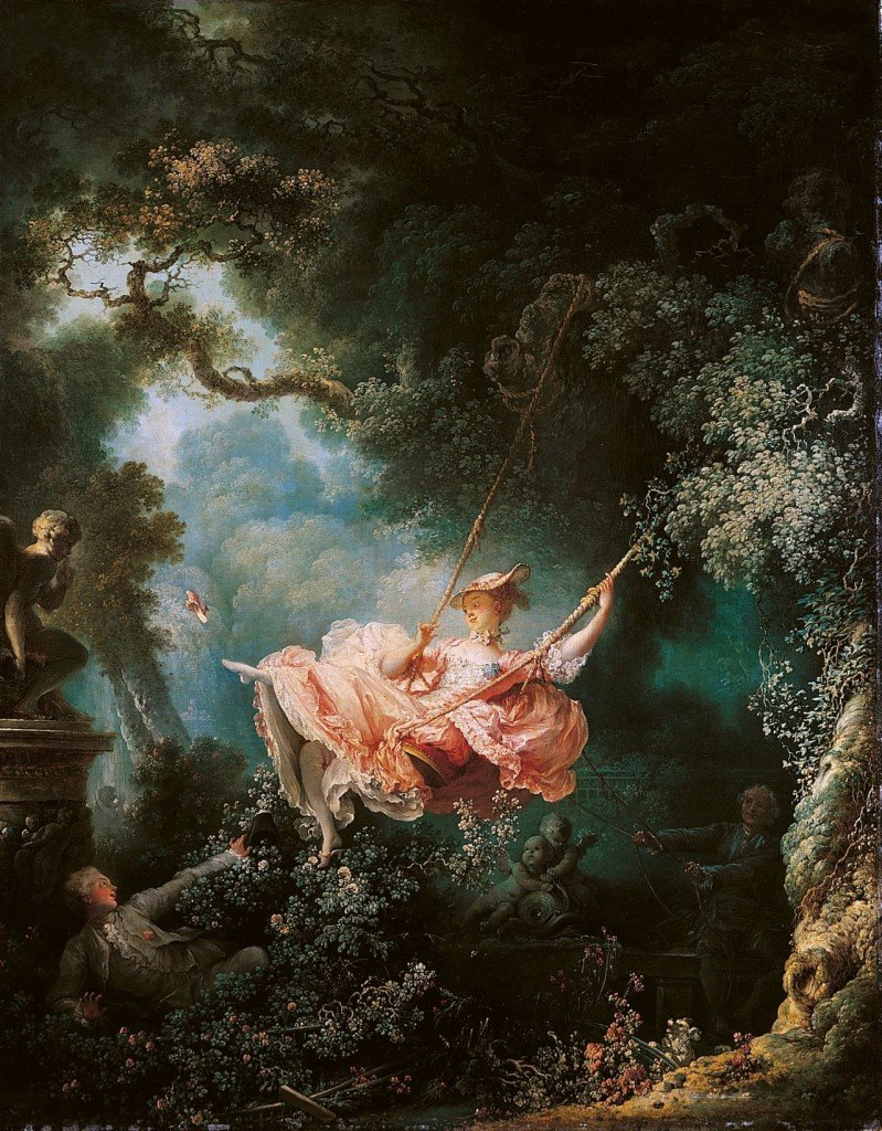 The Happy Accidents of the Swing Fragonard