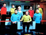 Star Trek TOS bridge crew