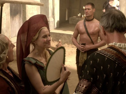 "Spartacus: Blood and Sand, Ep. 1.04: ""The Thing in the Pit ..."