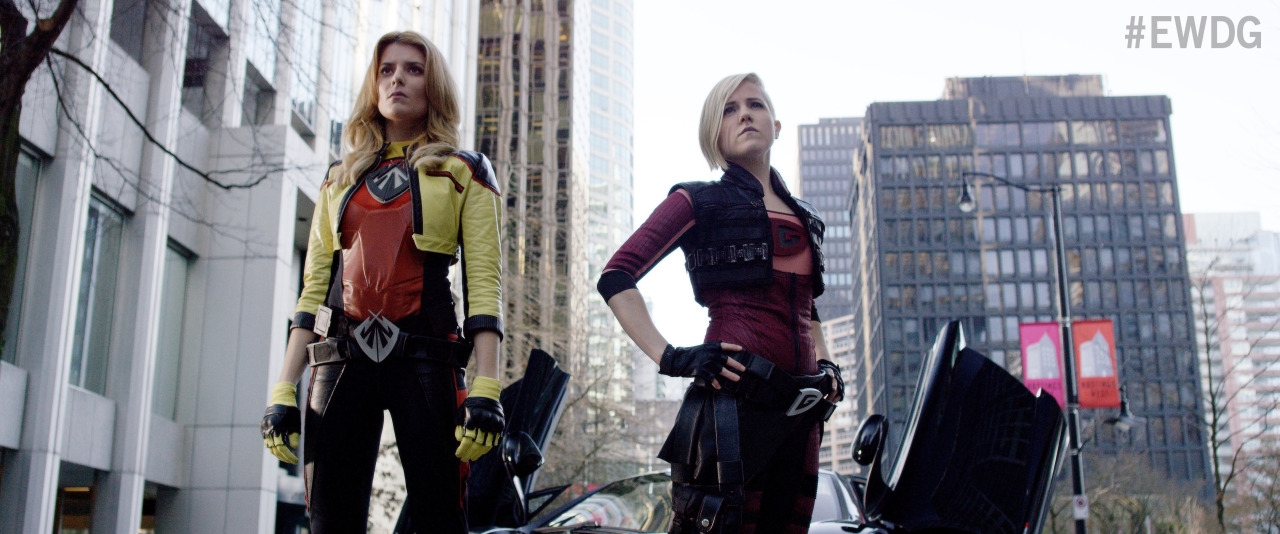 'Electra Woman and Dyna Girl' costumes revealed