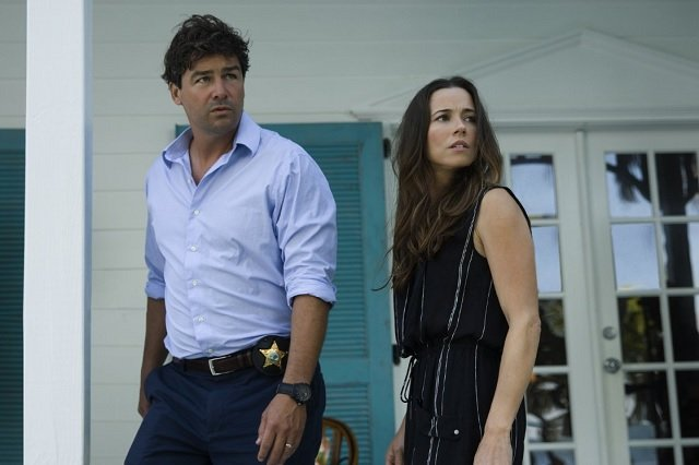 Kyle Chandler and Linda Cardellini in Bloodline, which was renewed for a second season this week.