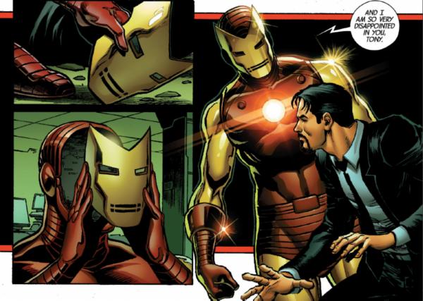 Superior Iron Man' #7: the suit makes the man - PopOptiq