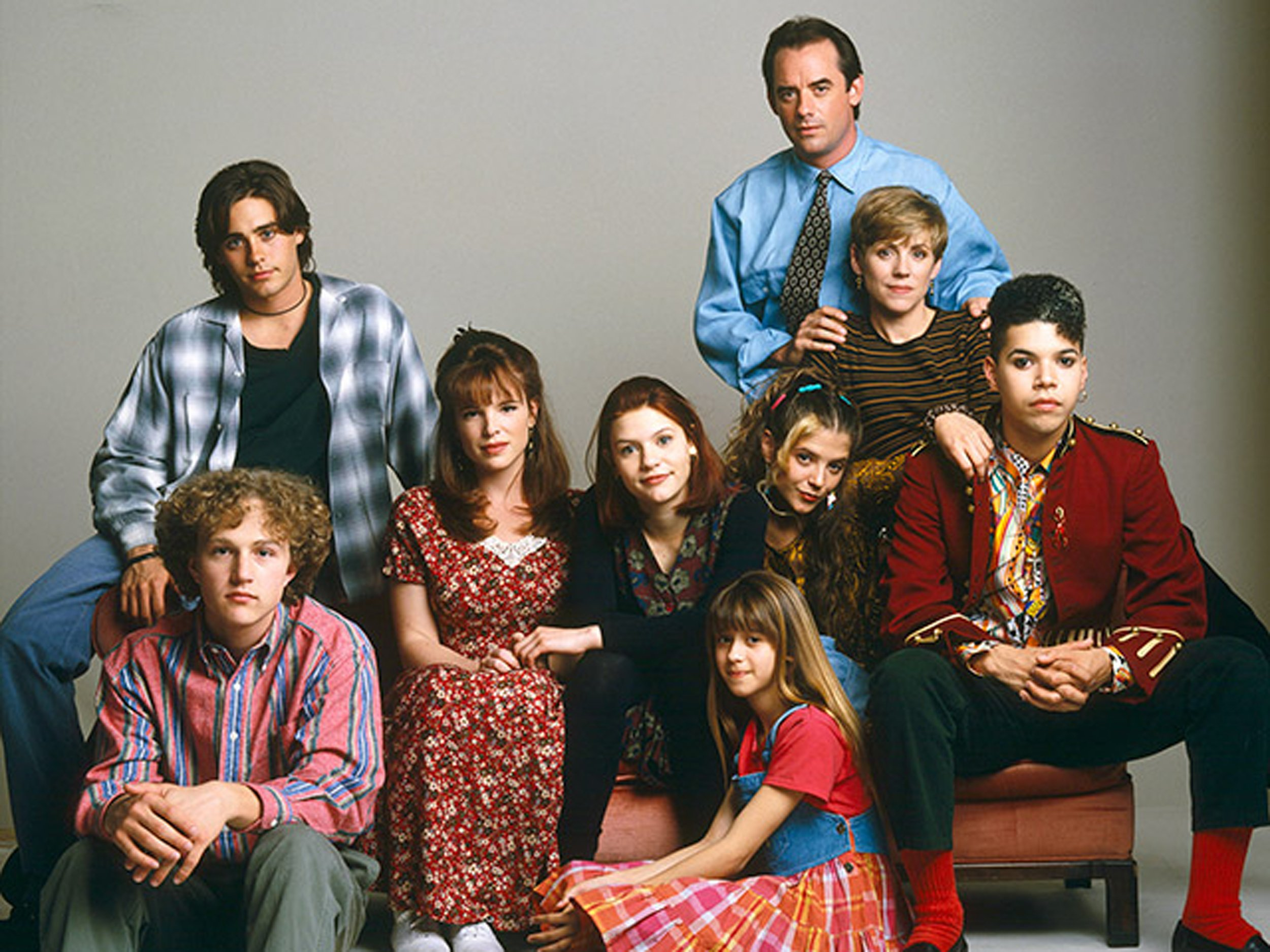 The cast of My So Called Life