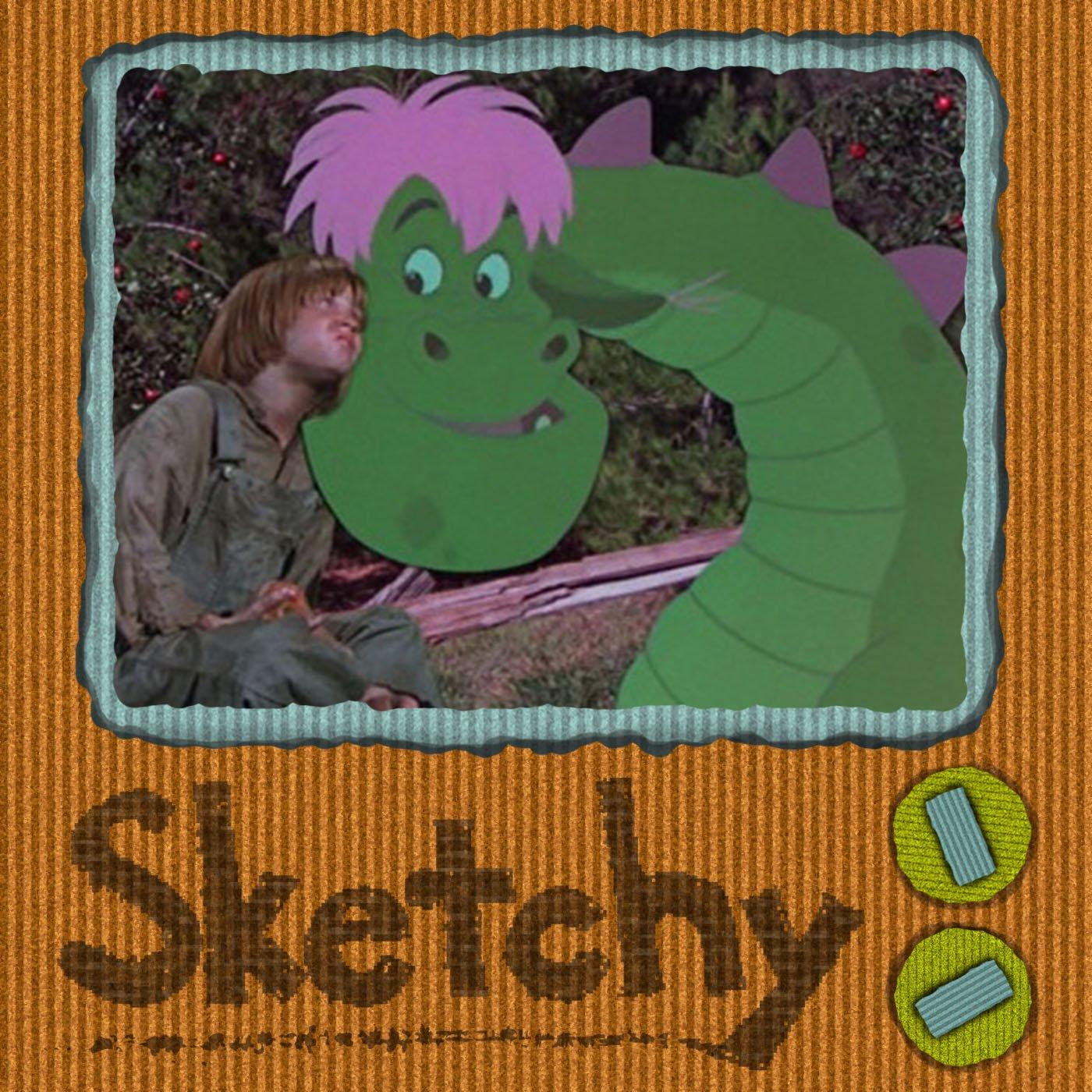 Sketchy Pete's Dragon