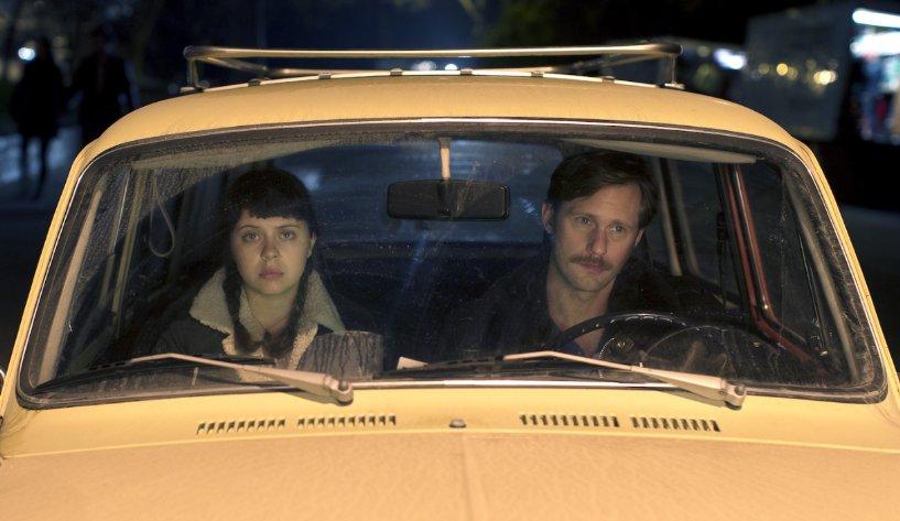 Bel Powley and Alexander Skarsgard in The Diary of a Teenage Girl