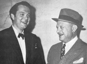 Orson Welles and Herman Mankiewicz