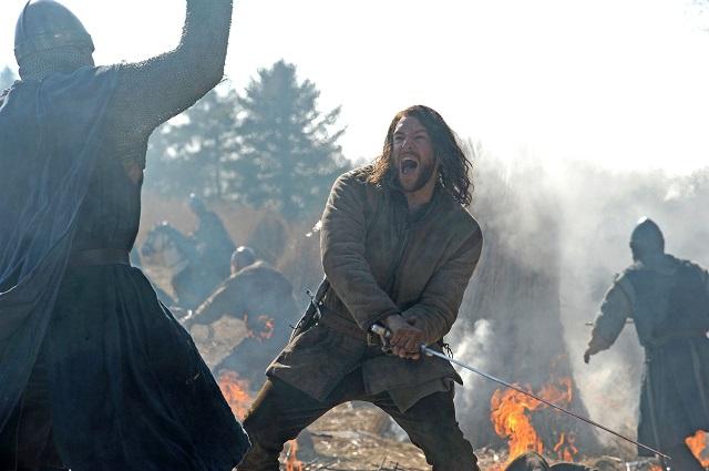 Lee Jones in FX's new series, The Bastard Executioner