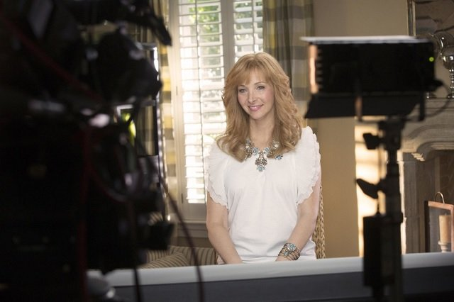 Lisa Kudrow in The Comeback, which she announced will be returning for a third season.