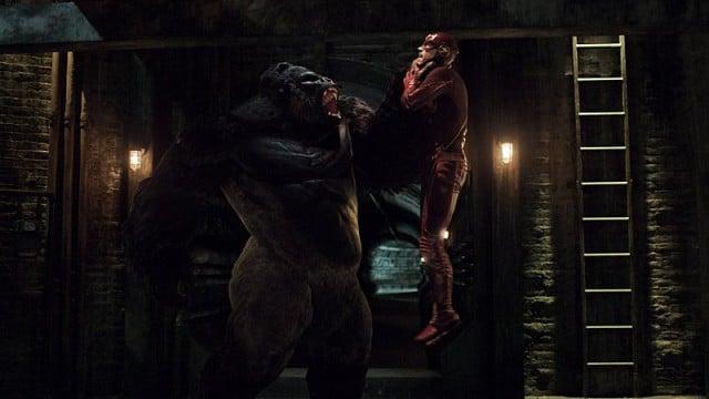 The Flash - Grodd Lives - Grodd vs Flash