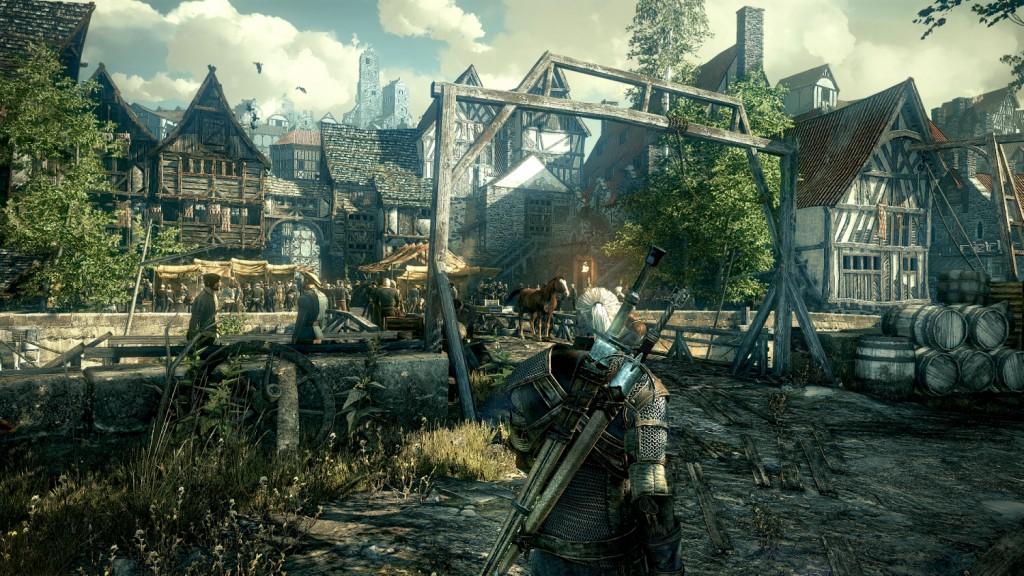 witcher village
