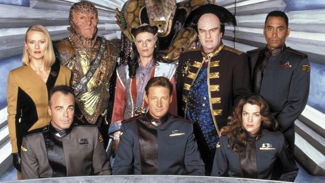 Babylon 5 season 2 cast photo