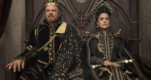 John C Reily and Salma Hayek in Tale of Tales