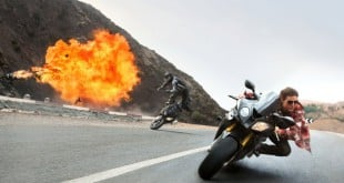 Tom Cruise in Mission: Impossible Rogue Nation
