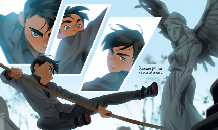Gotham Academy' #7 Is this Really It for Damian and the GA Gang