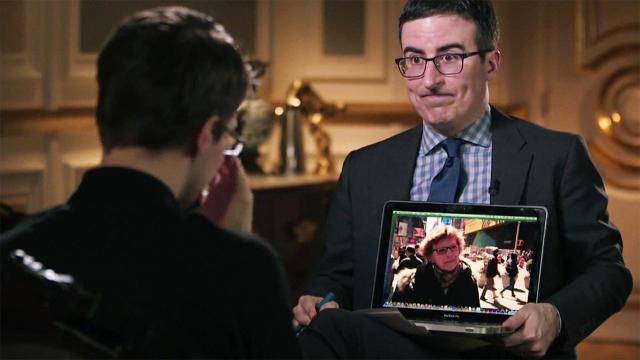 Last Week Tonight Edward Snowden