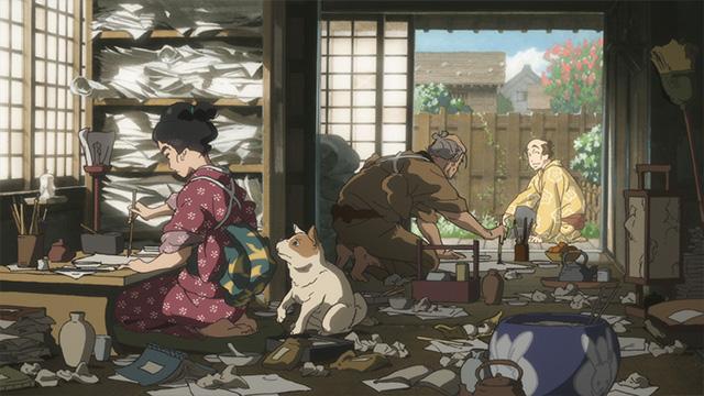 Miss Hokusai Anime Film