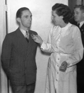 Riefenstahl Goebbels