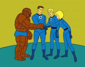 Fantastic Four - Animated