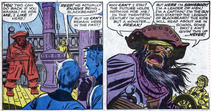 Fantastic Four - Blackbeard