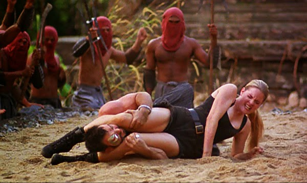 mortal-kombat-1995-movie-review-sonya-blade-vs-kano-fatality-trevor-goddard-bridgette-wilson
