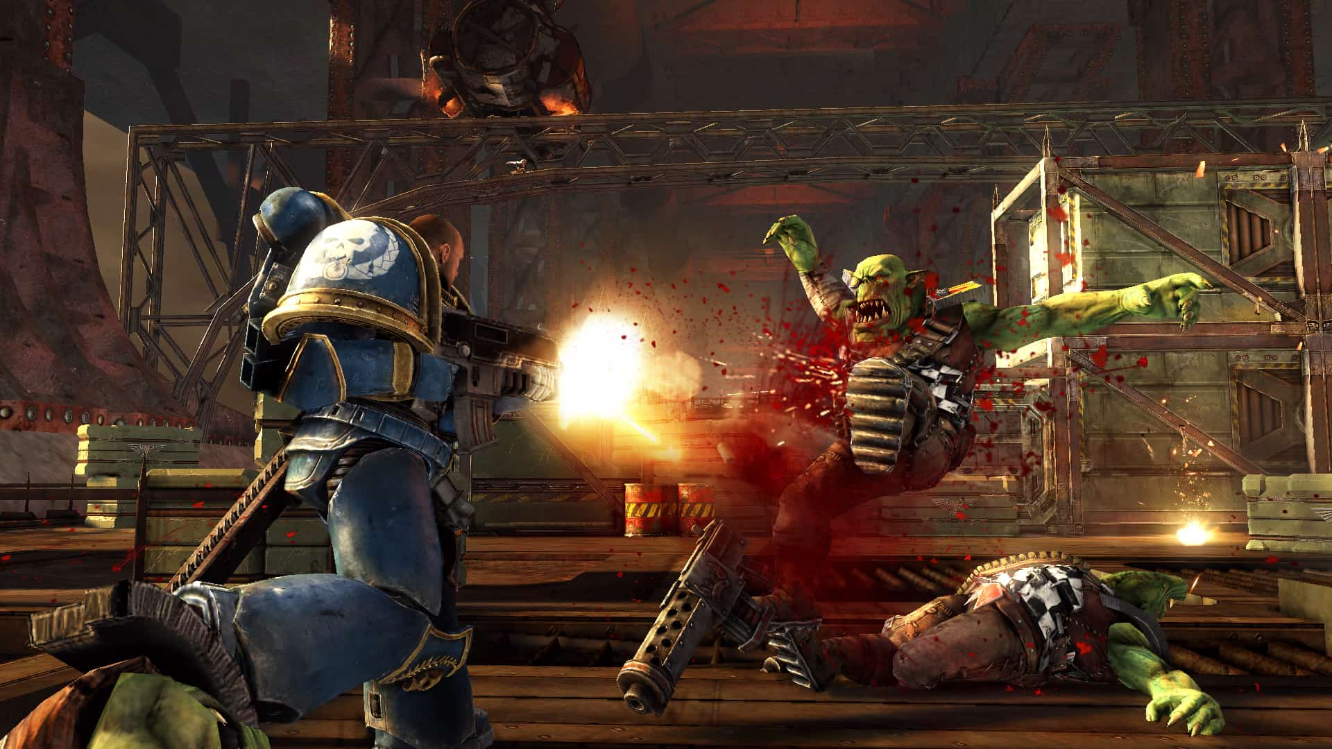 Image result for WARHAMMER 40,000: SPACE MARINE