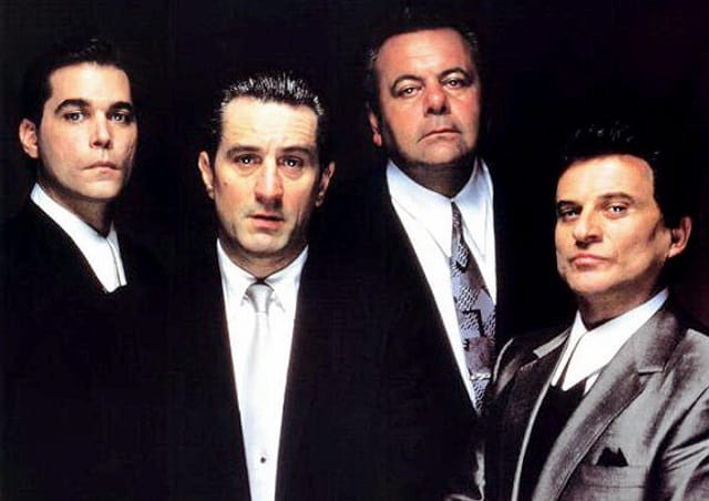 Ray Liotta, Robert De Niro, Paul Sorvino, Joe Pesci