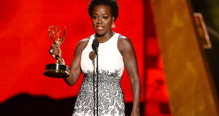 Viola Davis at the 2015 Emmys