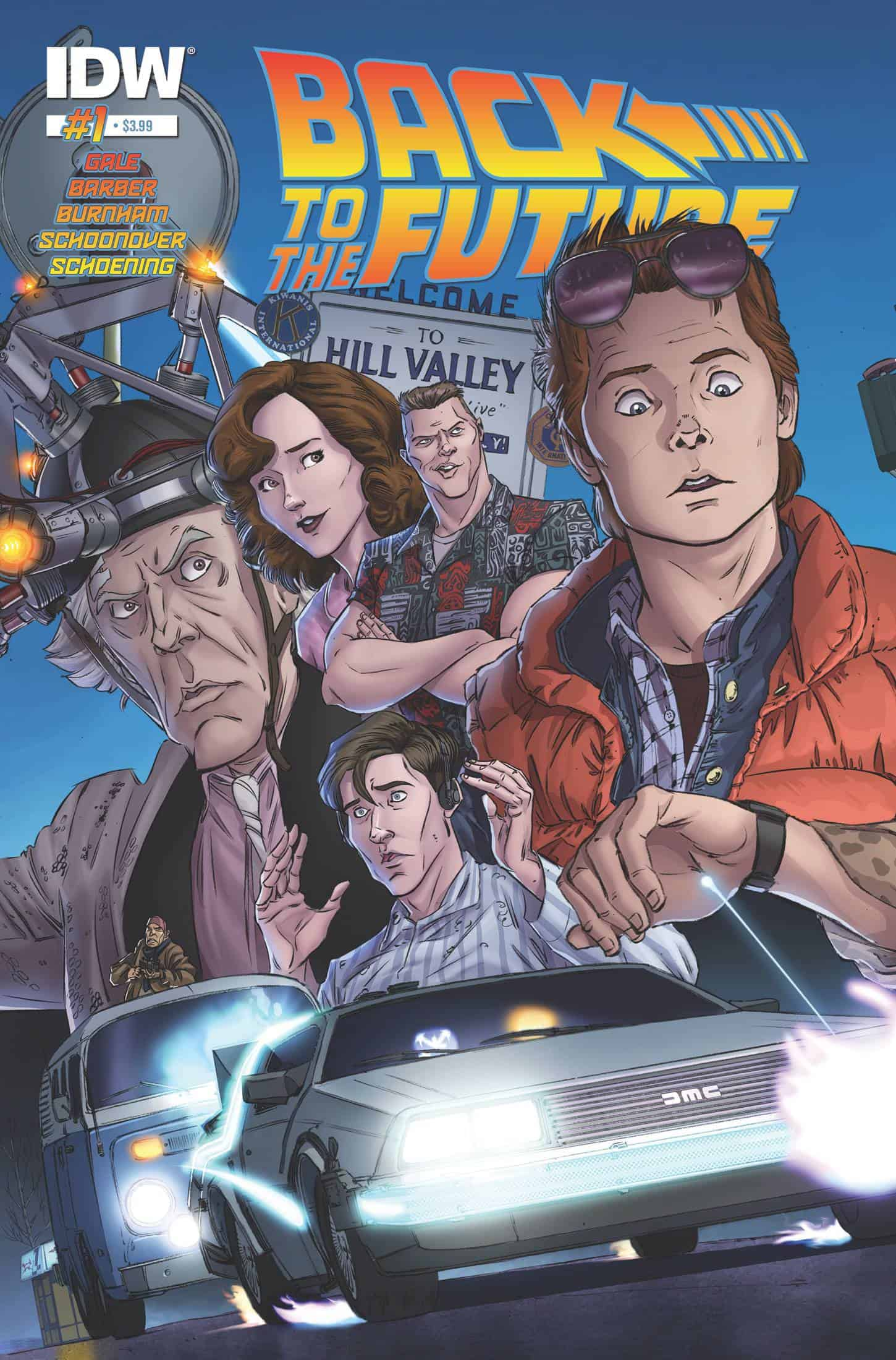 Back to the Future #1 - Cover