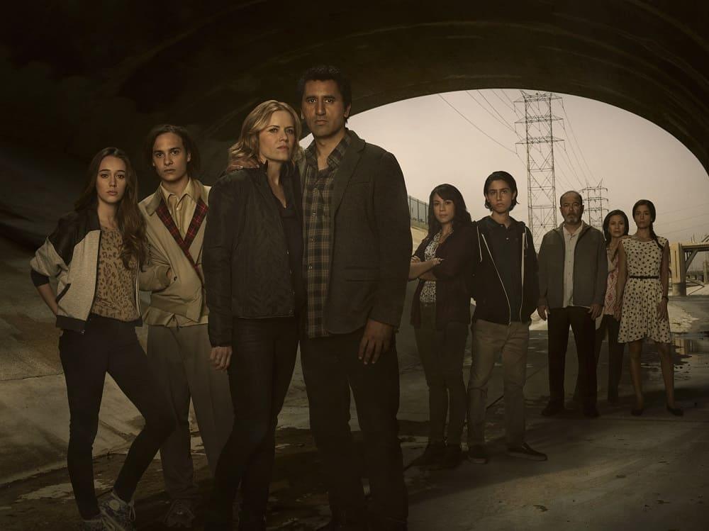 Fear The Walking Dead S1 cast