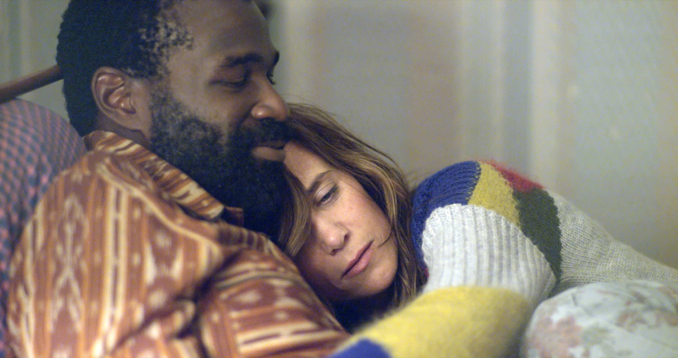 Kristen Wiig and Tunde Adebimpe in NASTY BABY_Courtesy of The Orchard
