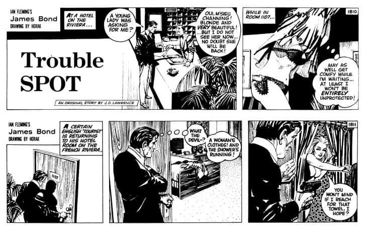 'Trouble Spot' is decent spot for fans to start with Bond comics
