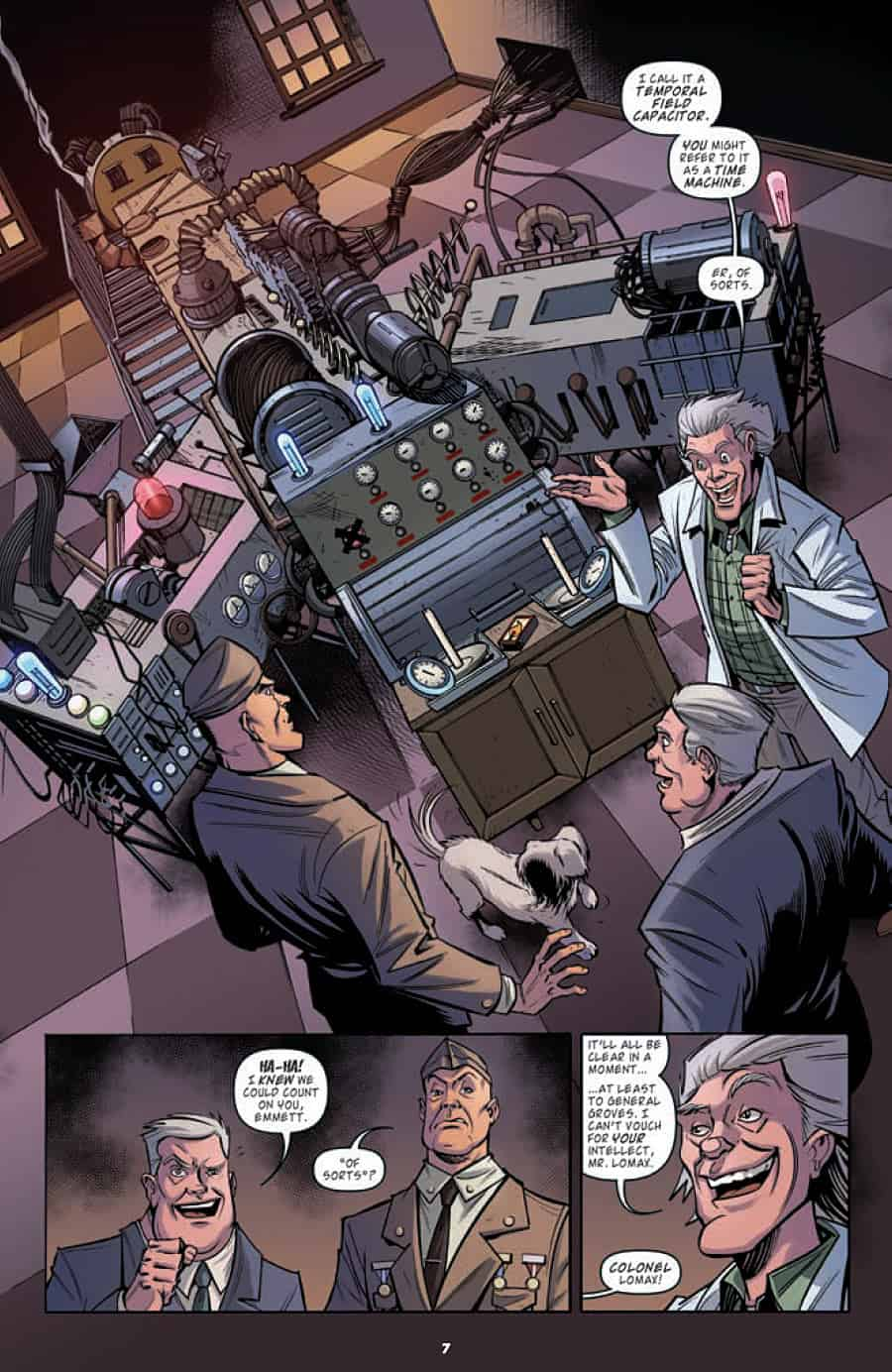 Back to the Future #2 - page