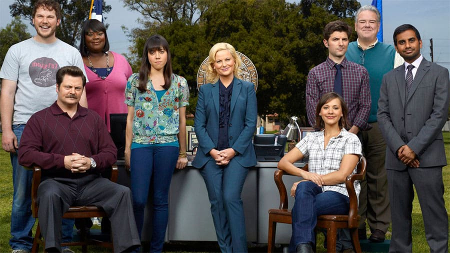 Parks and Recreation cast s7