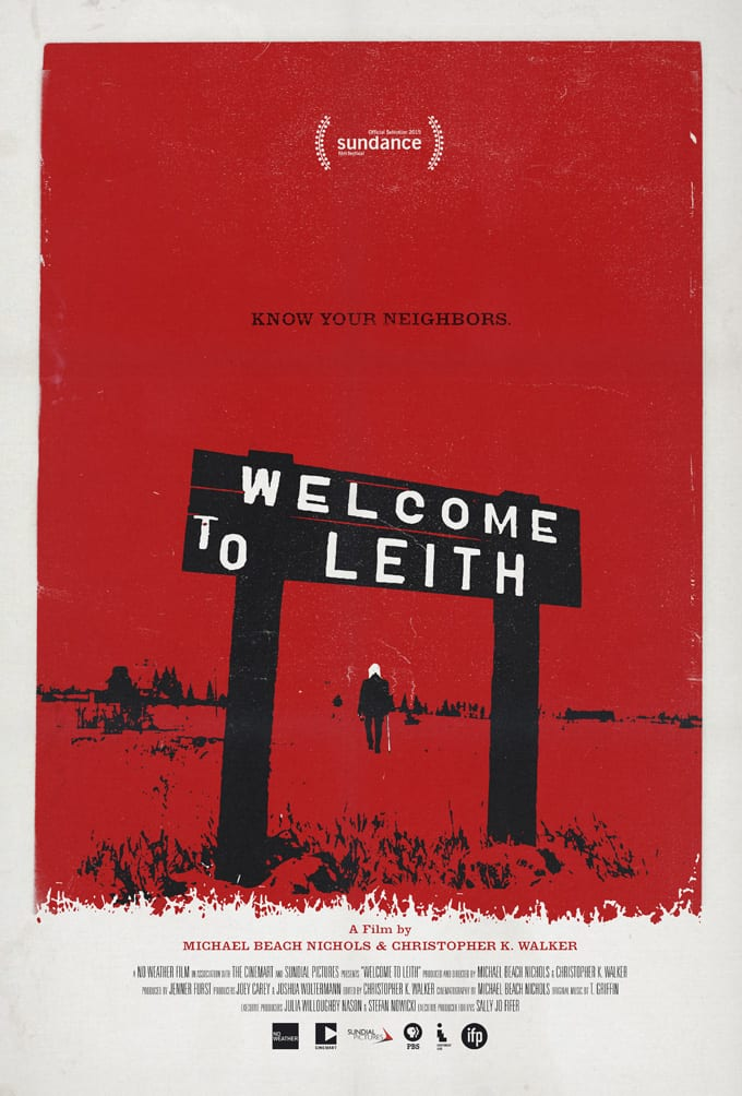 Welcome to Leith Film Poster